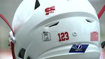 Andy Kendeigh reports on how Nebraska plans to honor Sam Foltz, who was killed in a car crash last month.