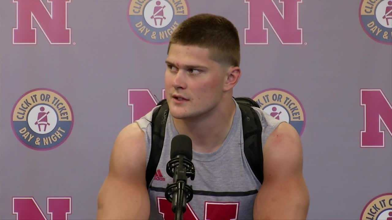 Nate Gerry: 'Being a blackshirt is providing energy'