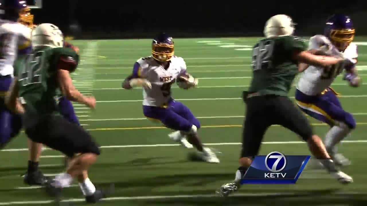 Andy Kendeigh has the highlights of Bellevue West's 21-14 win over Millard West.
