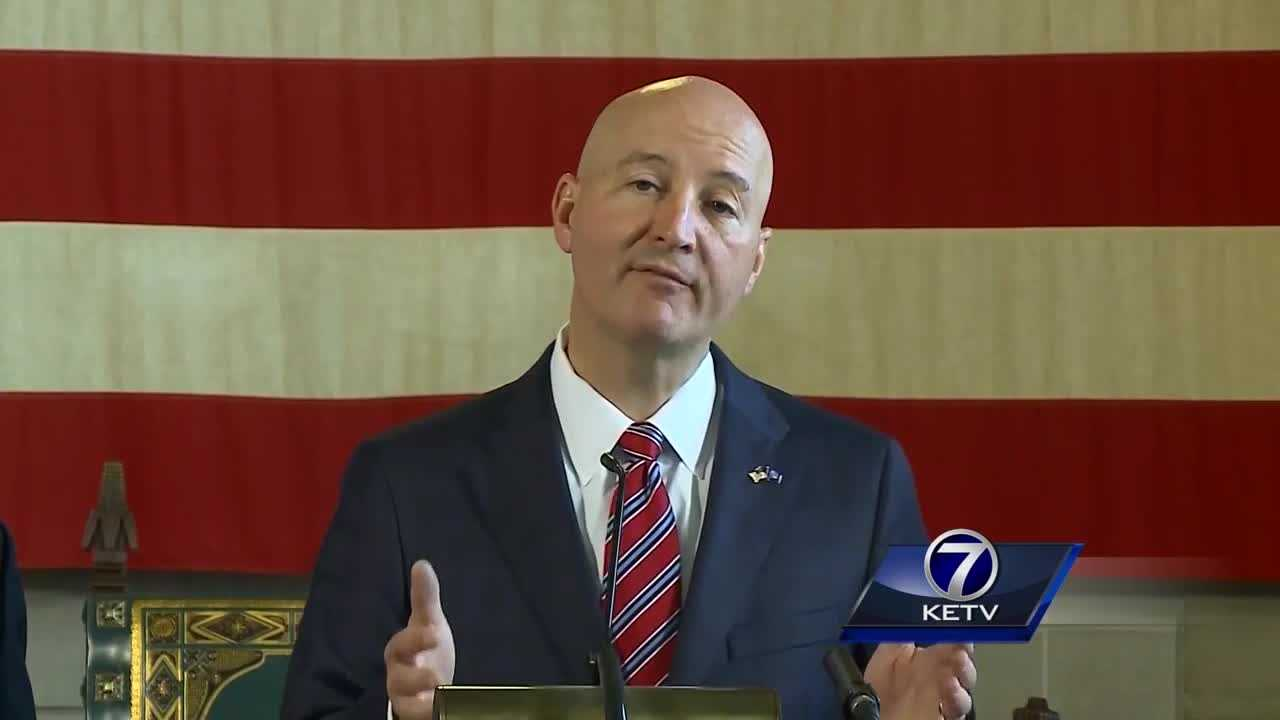 Ricketts also says they're trying to reschedule Pence's visit to Nebraska.
