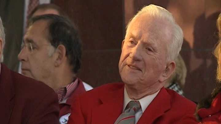 File photo of Frank Broyles