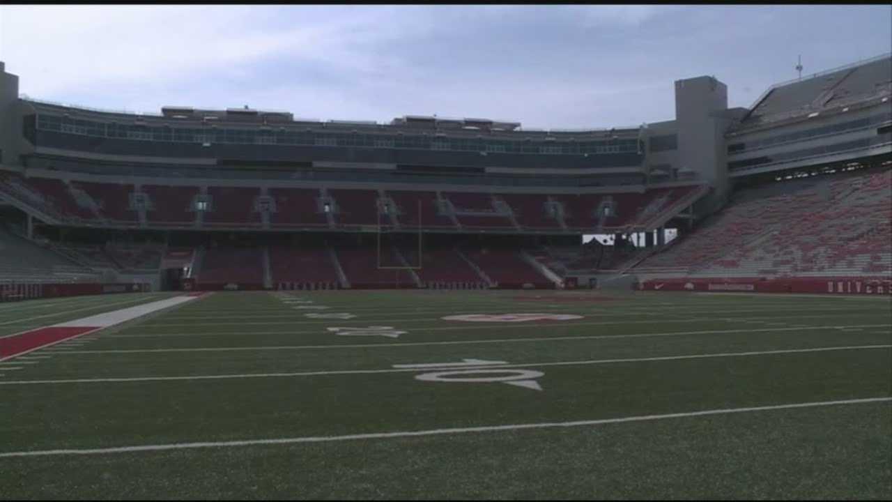 FILE image of Razorback Stadium