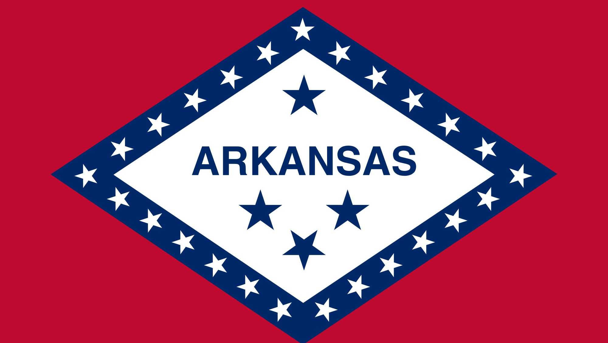 state flag of arkansas
