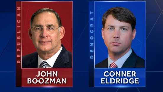 Senator John Boozman and Conner Eldridge