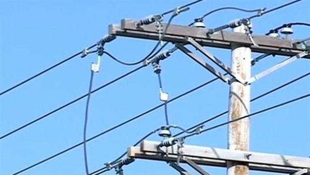 File image of power pole