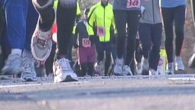 Runners Brave Cold For Annual Half Marathon