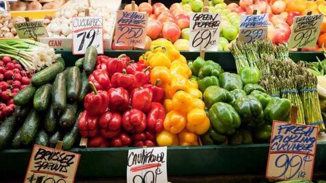 Vegetables, farmer's market