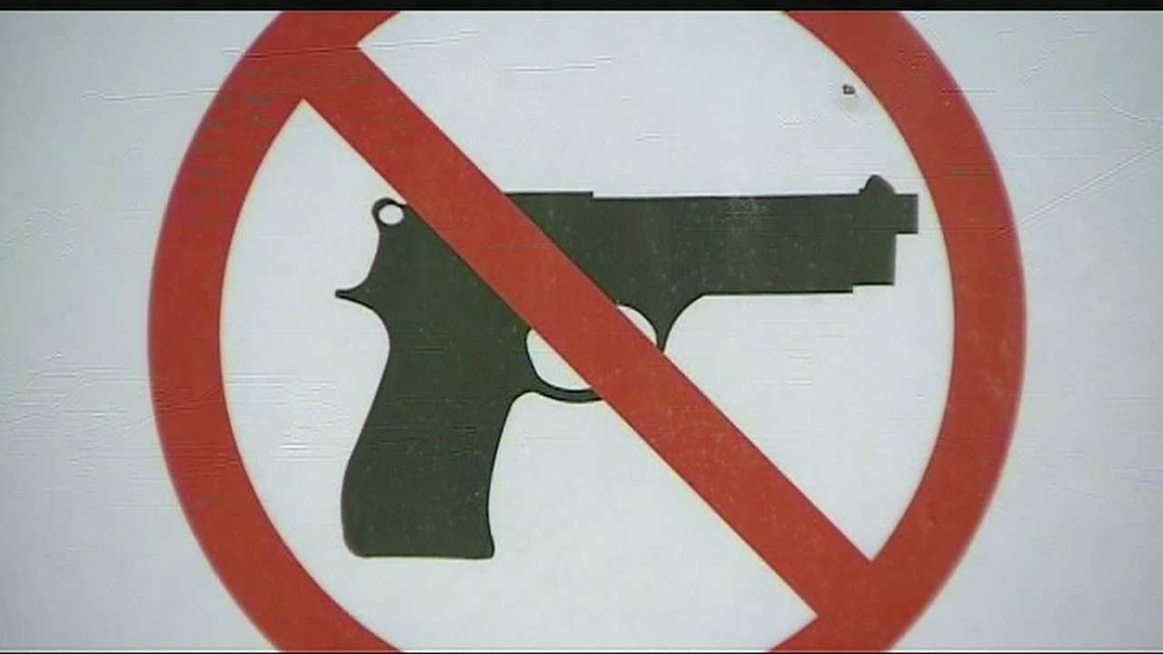 Image No Guns sign - conceal carry - generic - clean