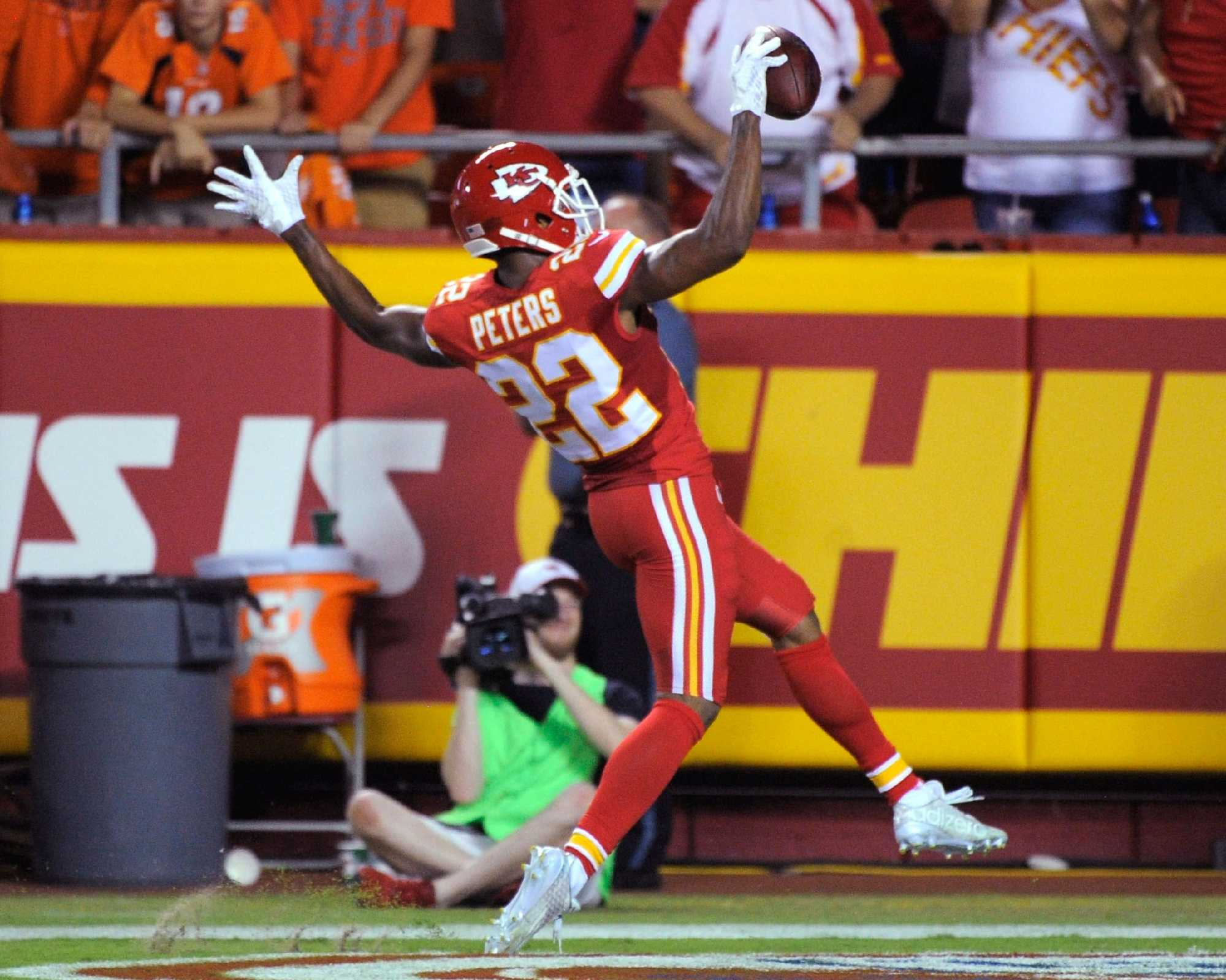 Chiefs announce suspension of Marcus Peters ahead of Sunday s game