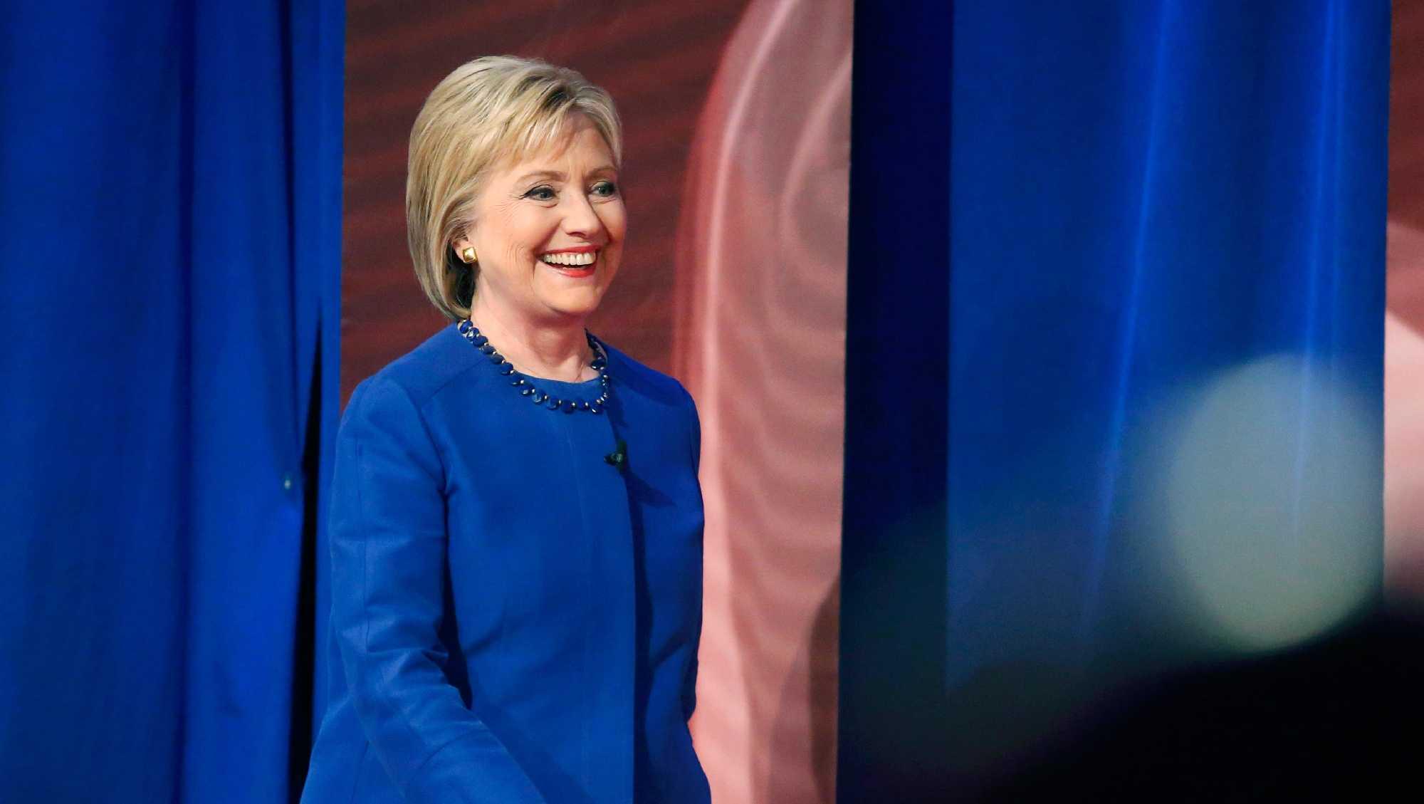Democratic Presidential nominee Hillary Clinton is in Kansas City for a speech to the National Baptist Convention USA