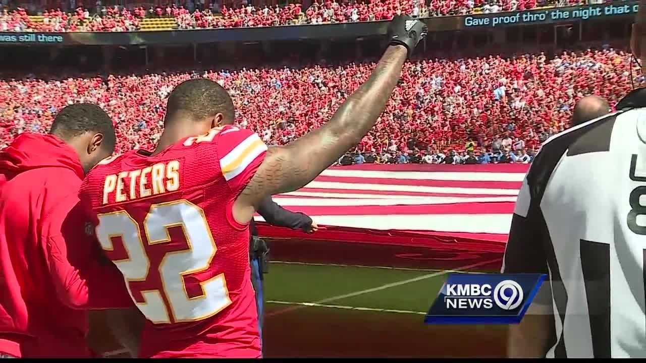 Chiefs Marcus Peters with second straight two pick game
