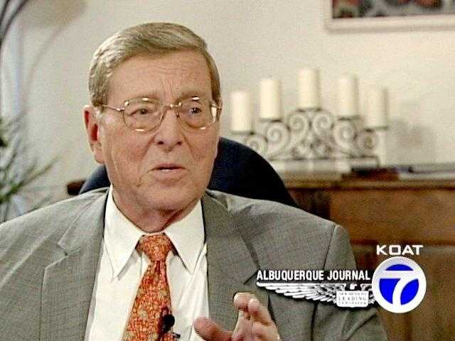 Ex-New Mexico Sen. Pete Domenici dies