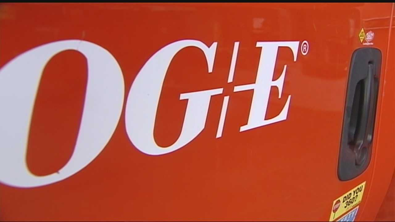OG&E working to repair power outage