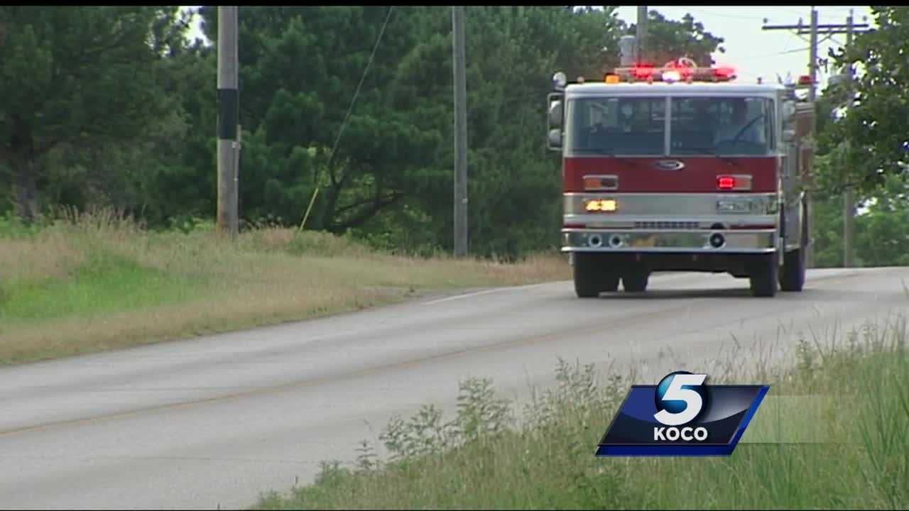 An Oklahoma County fire department is hoping to keep its fire house open after Oklahoma County cut their funding.
