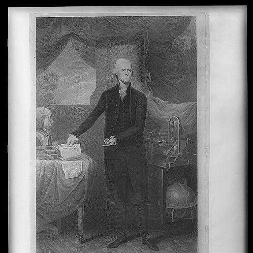 1801-1809: Thomas Jefferson slashed Army and Navy expenditures, cut the budget, eliminated the tax on whiskey, and reduced national debt by a third during his first term. During his second term, Jefferson tried keeping the Nation from engaging in the Napoleonic wars.