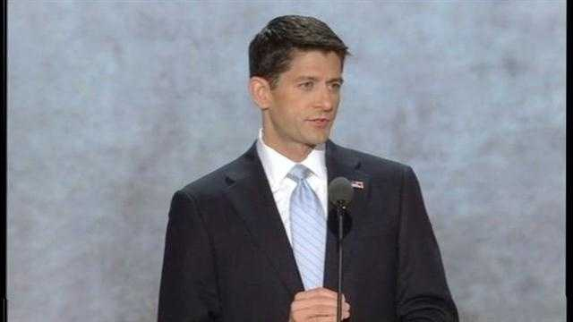 Hallie Jackson reports on Republican vice presidential nominee Paul Ryan's speech to the RNC.
