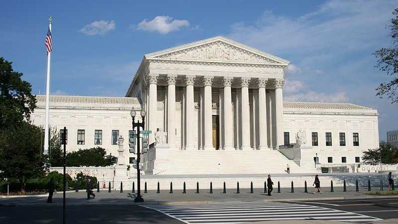 U.S. Supreme Court in Washington, D.C.