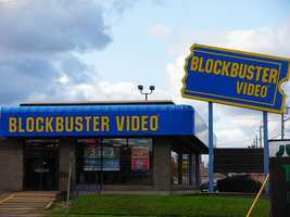 The First Blockbuster video rental store was opened in Dallas, Texas, in October of 1985. The brand would quickly expand across the United States, eventually operating over 9,000 rental stores at the height of it's success. Blockbuster would later file for bankruptcy in 2010 and close the remaining stores of the coming years. (Source: MentalFloss)