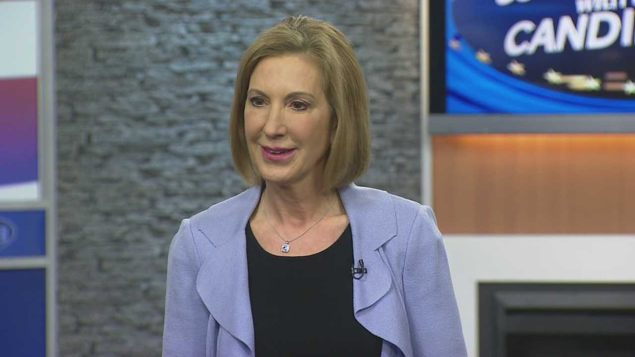 Potential Republican presidential candidate Carly Fiorina joins Josh McElveen for the Conversation with the Candidate series (Part 2).