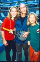 Hanson (1997)Long blond hair, primary colors, and tennis racket guitar for extra lovability.