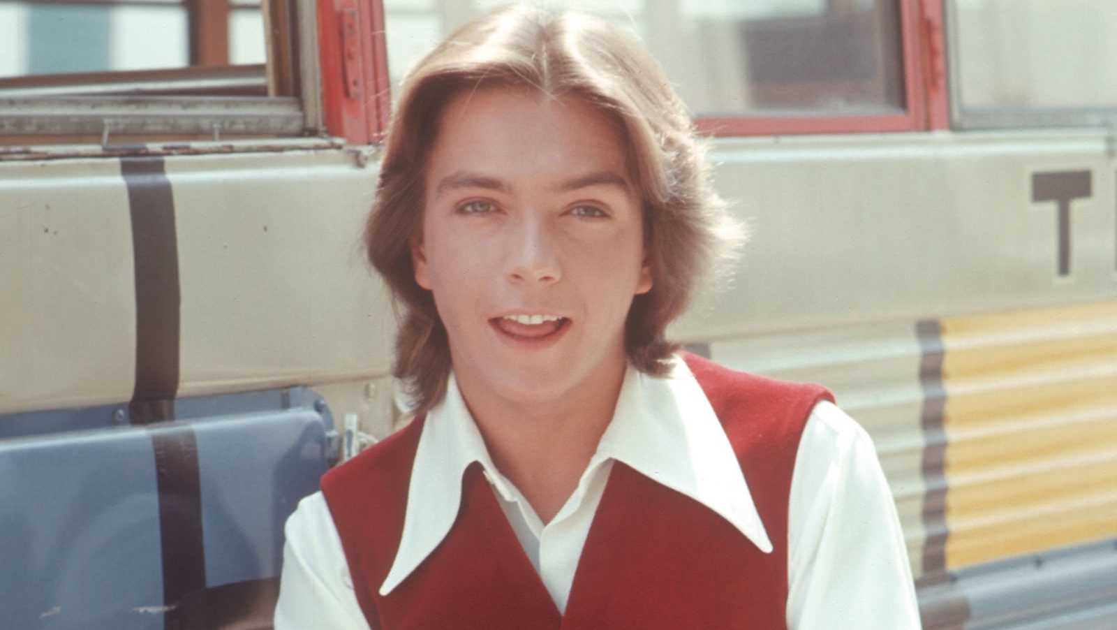 David CassidyDavid Cassidy starred as Keith Partridge in The Partridge Family from 1970-1974. His hair is the most 70s thing we've ever seen!
