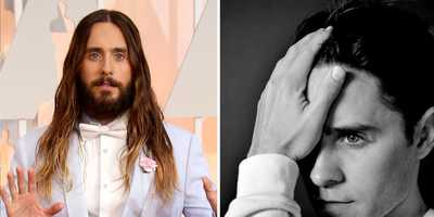 Jared LetoFrom long to short.