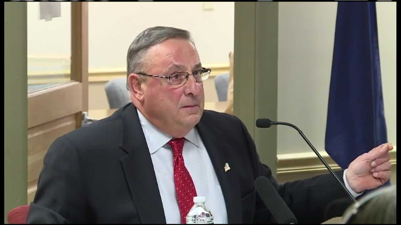 ME lawmakers to meet on embattled governor's future