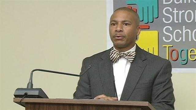 JPS Superintendent Dr. Cedrick Gray