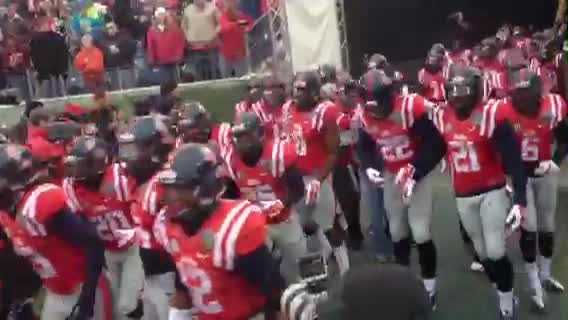Ole Miss Gets Hit By NCAA