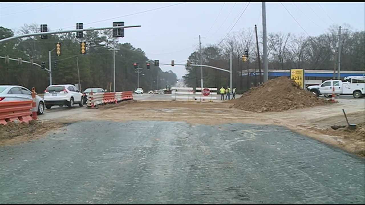 The largest road project in Ridgeland is almost done.
