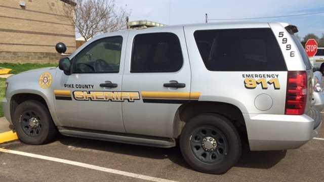 Pike County Sheriff vehicle