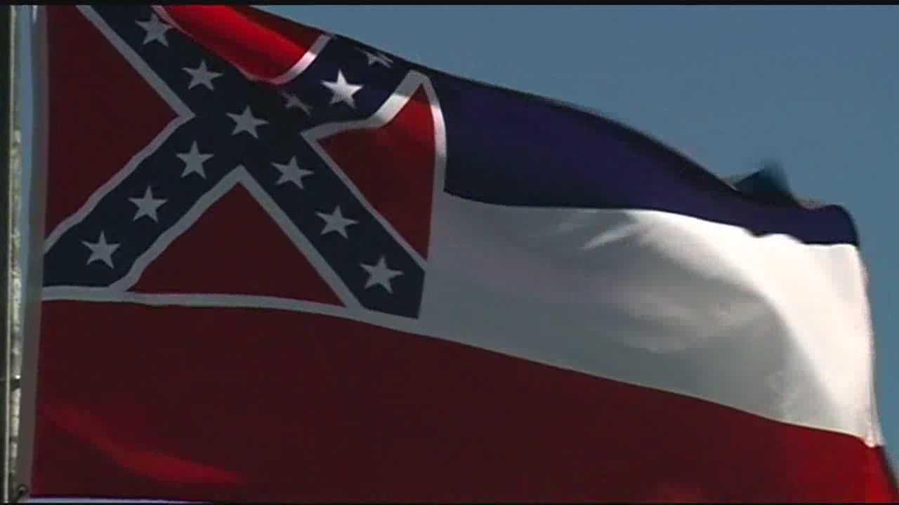 Mississippi state flag 5