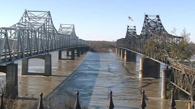 Mississippi River bridges Vicksburg