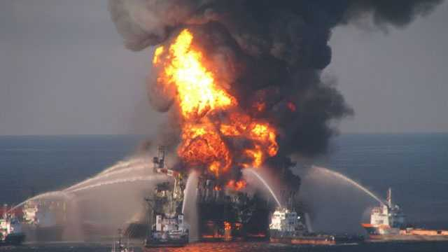 Deepwater Horizon Brings Life to Oil Tragedy