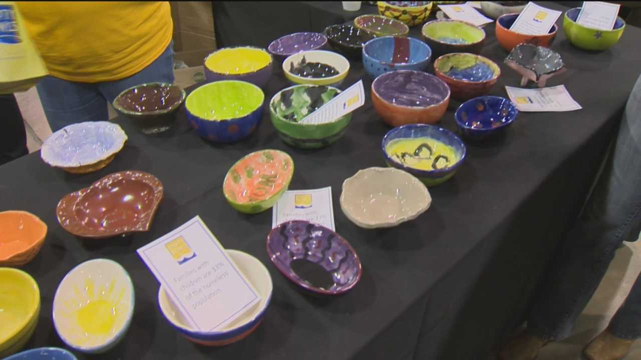 St. Vincent de Paul of Baltimore holds its Empty Bowls fundraiser to raise money toward feeding the hungry.