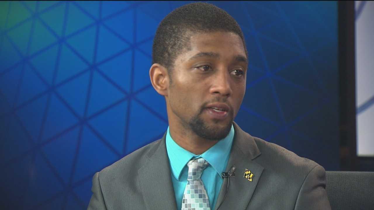 Baltimore City Councilman Brandon Scott, D-District 2, discusses the Freddie Gray case.