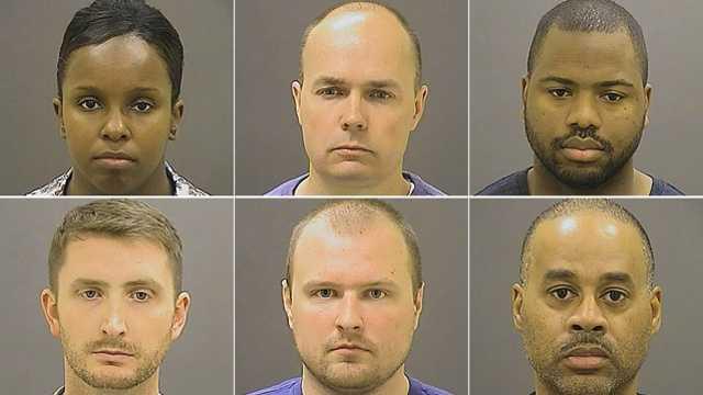 U.S. DOJ will not criminally charge Freddie Gray officers