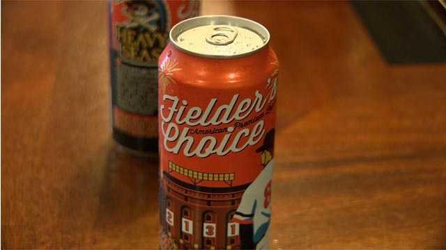 Fielder's Choice beer
