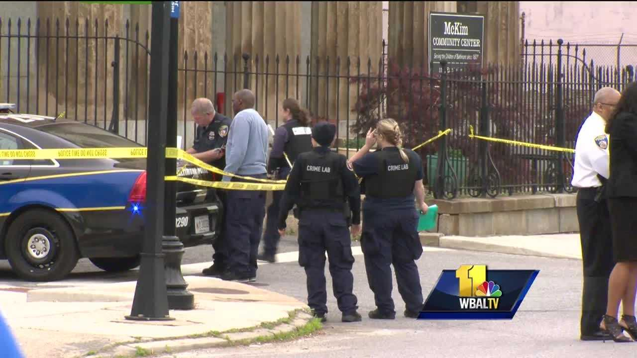 Baltimore City police are investigating an officer-involved shooting. Police said an officer shot a 13-year-old boy just after 4 p.m. Wednesday in the unit block of Aisquith Street near Baltimore Street. Baltimore police Commissioner Kevin Davis said the boy was holding a replica semiautomatic pistol and tried to run when approached by officers. Police said the boy displayed an exact replica of a Beretta 9 mm automatic pistol.