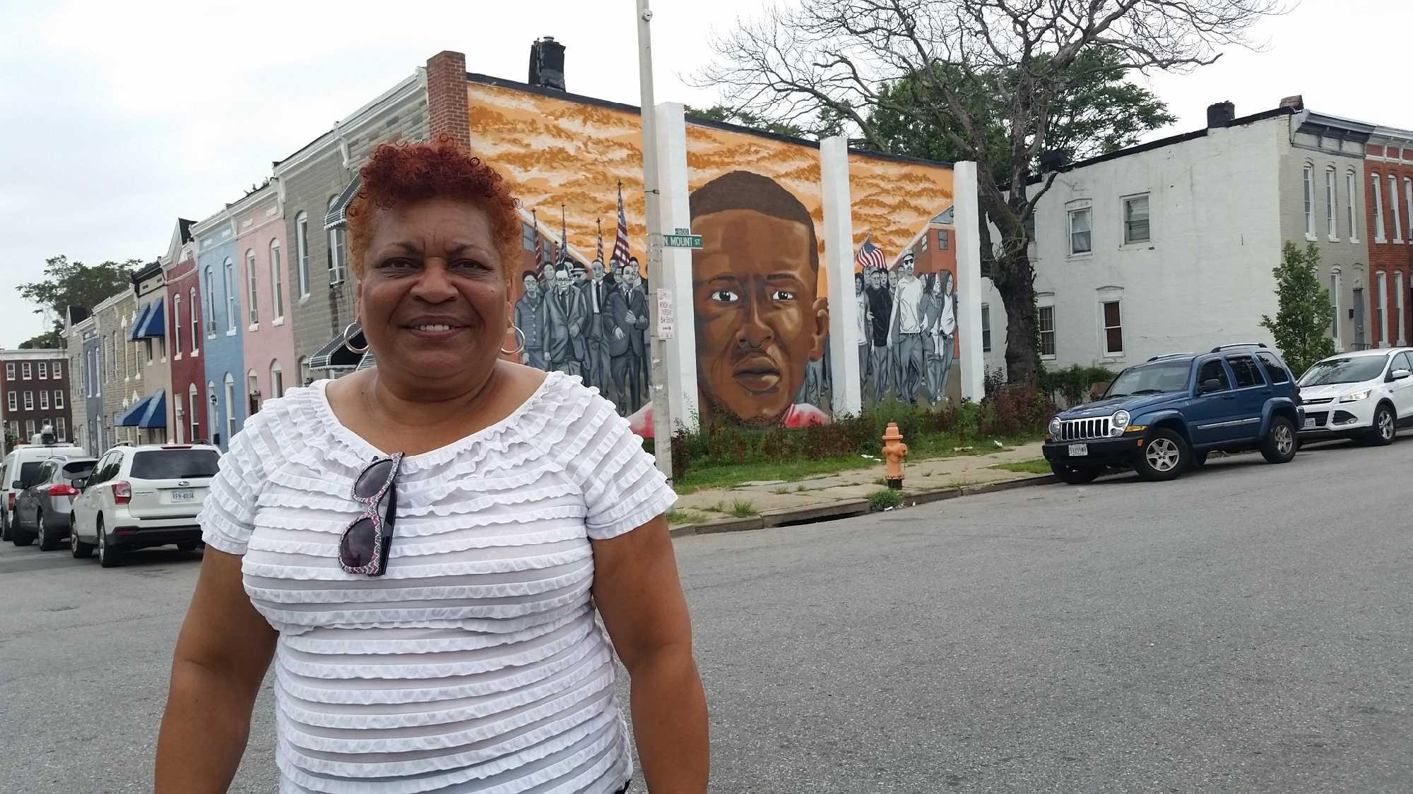 Baltimore NAACP President Tessa Hill-Aston