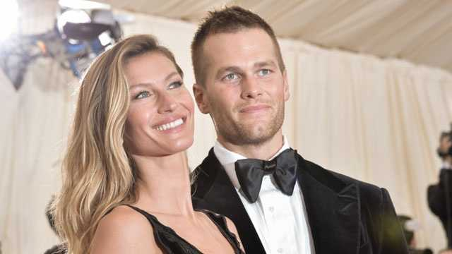 Despite repeated denials they were even engaged, New England Patriots quarterback Tom Brady and supermodel Gisele Bundchen got married in a tiny ceremony in Santa Monica, Calif., on Feb. 26, 2009.