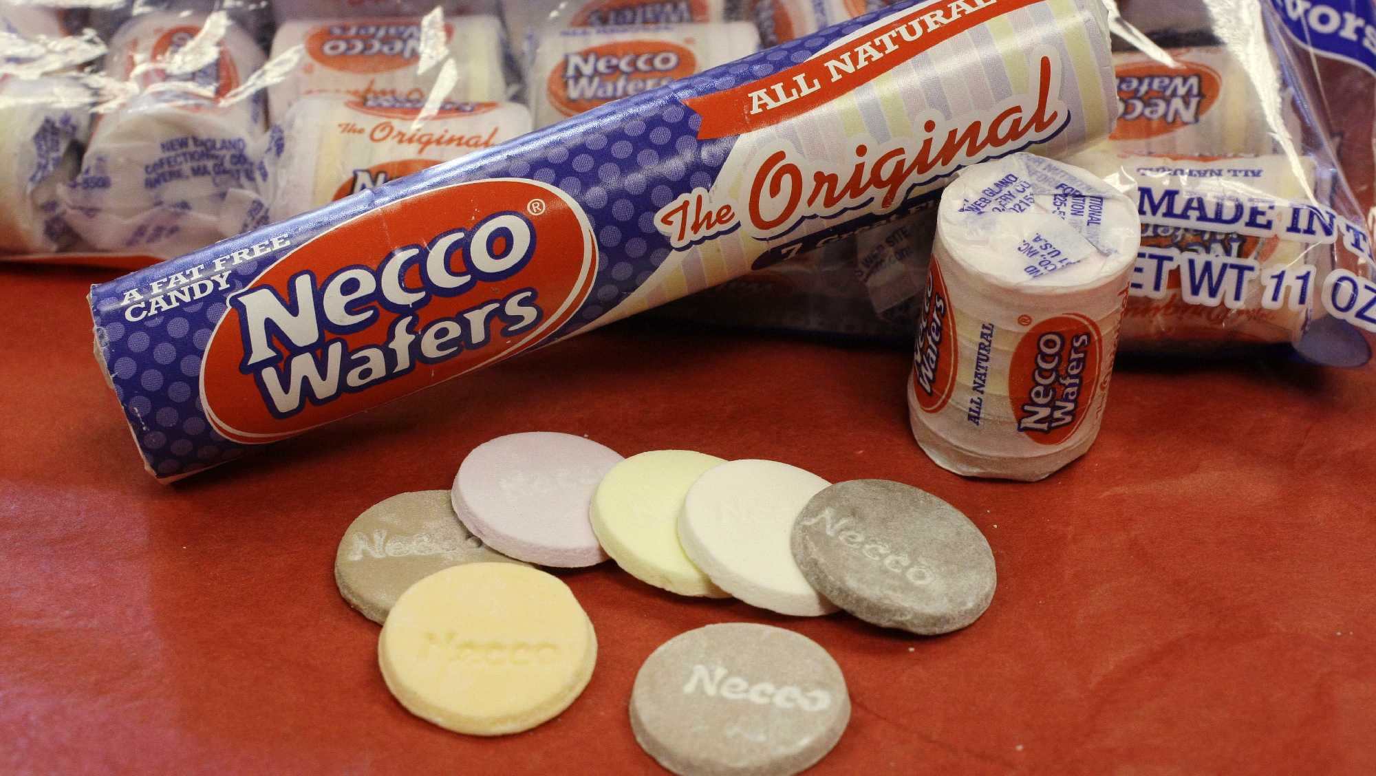"""The New England Confectionery Company (Necco)is considered the """"oldest continuously operating candy company in the United States."""" Its headquarters are located in Revere."""