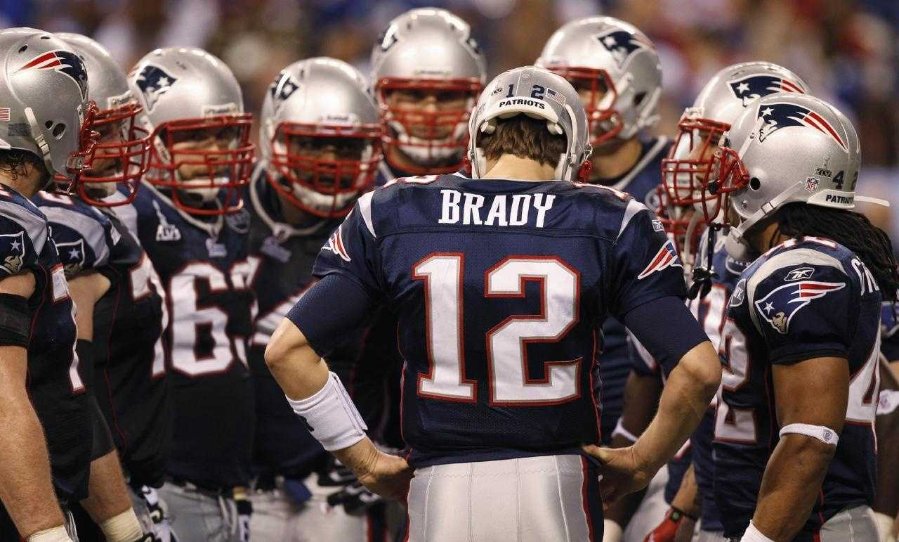 Tom Brady wasn't always #12. Brady wore jersey #10 for the Michigan Wolverines during his tenure in college football
