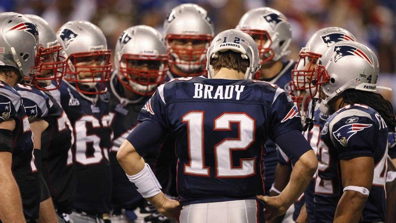 Tom Brady wasn't always #12. Brady wore jersey #10 for the Michigan Wolverines during his tenure in college football.