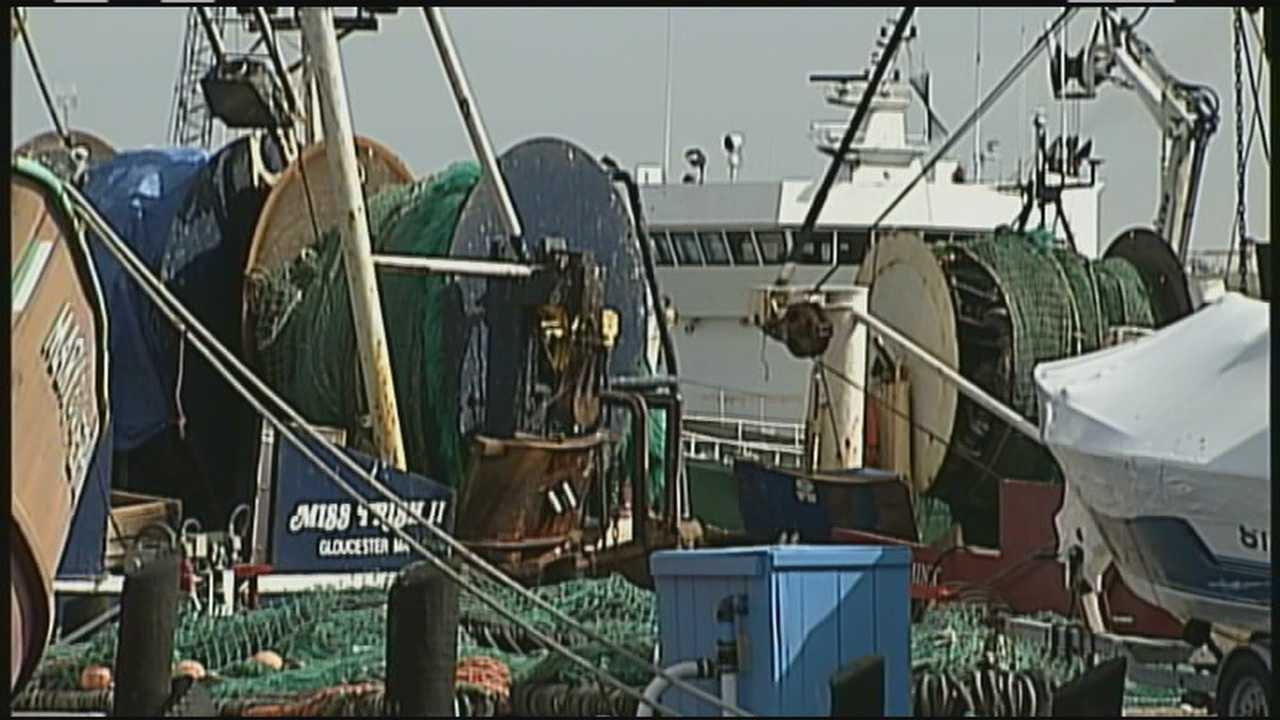 "The state attorney general of Massachusetts filed suit against federal fishing regulators Thursday in an attempt to block new rules that she called a ""death sentence"" for New England's fleet."