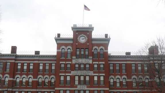 13) Clark University in Worcester