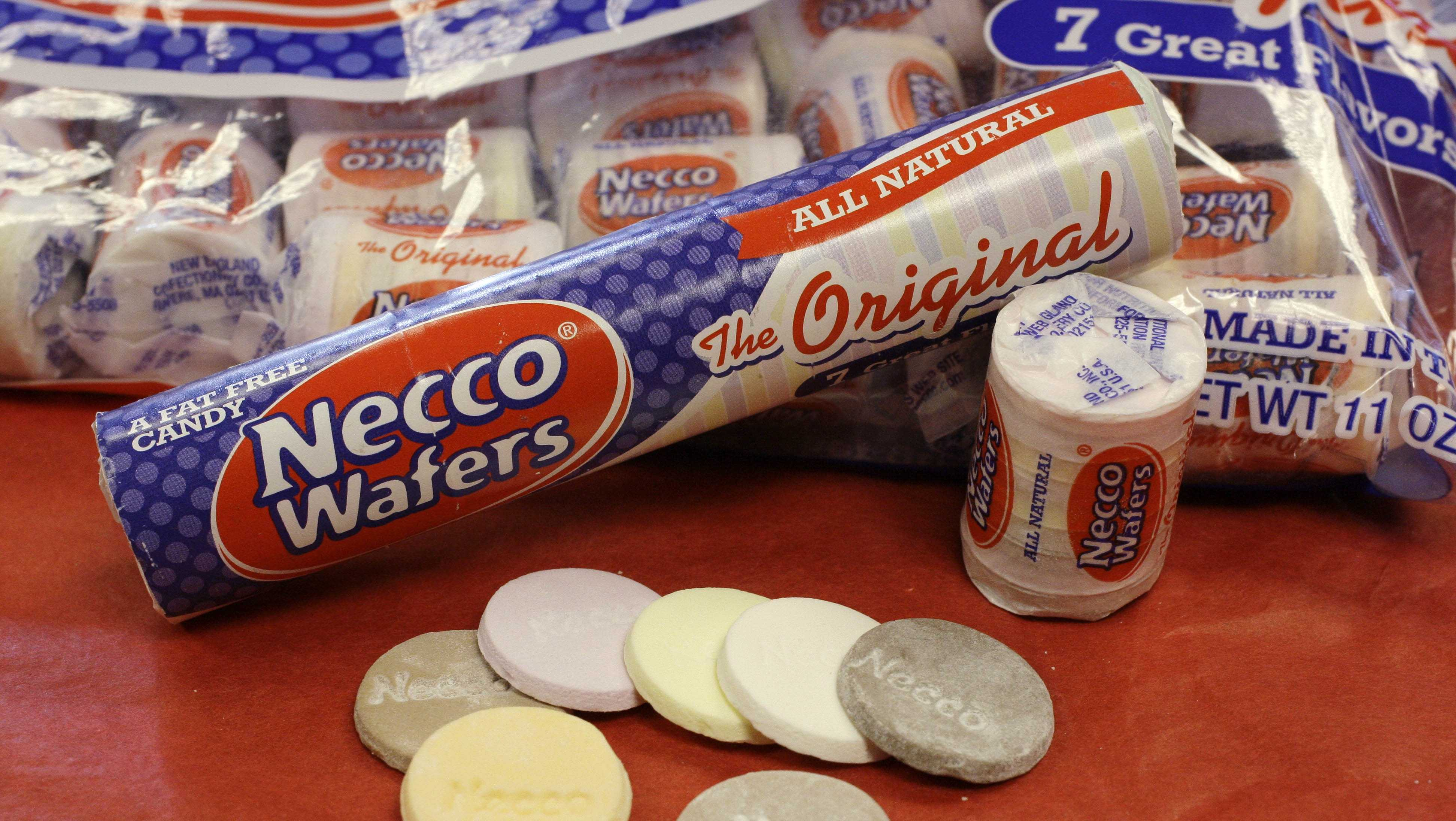 """The New England Confectionery Company (Necco)is considered the """"oldest continuously operating candy company in the United States."""" Its headquarters are located in Revere, Massachusetts."""