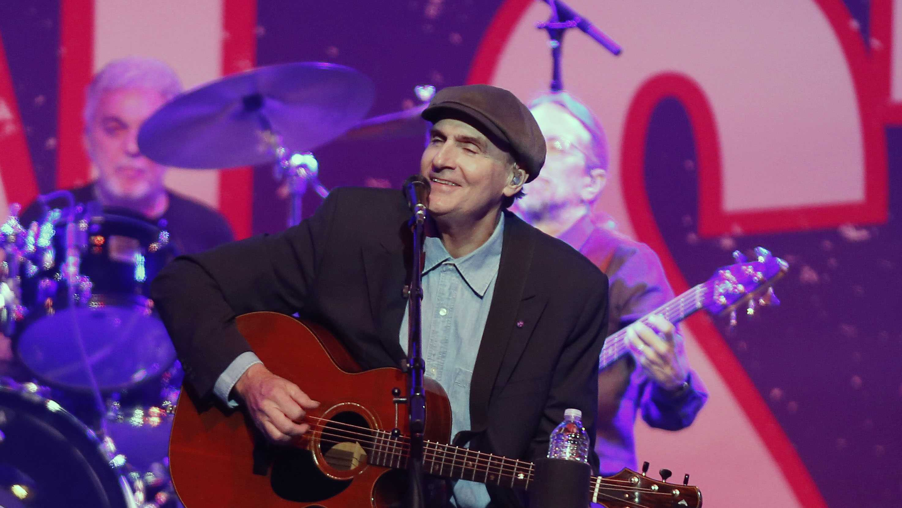 Folk rock icon James Taylor was born in Massachusetts before his family moved to North Carolina when he was 3 years old. The Rock & Roll Hall of Fame inductee gave a special performance at the memorial service for slain MIT officer Sean Collier in April 2013.
