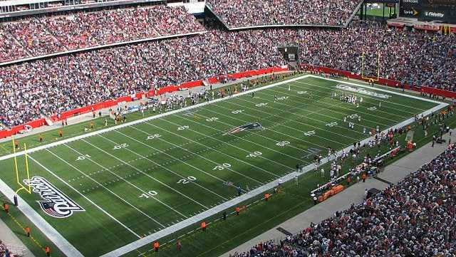 Gillette Stadium would be used for soccer.