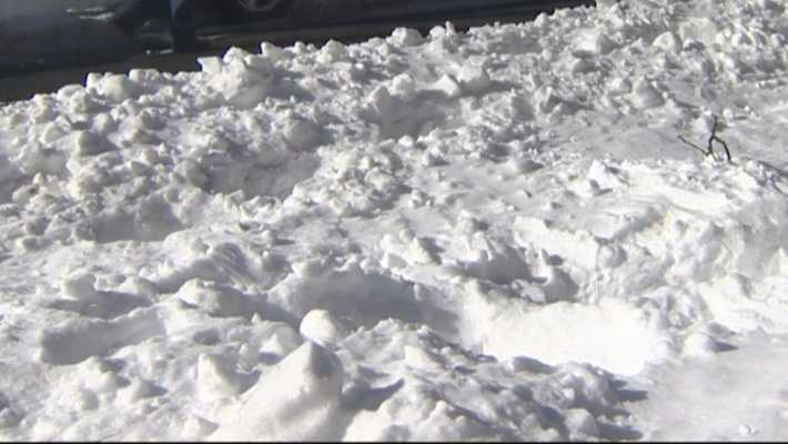 Large snow piles create parking, safety concerns